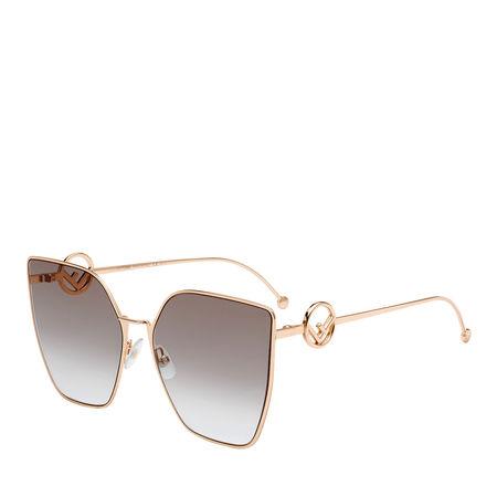 Fendi  Sonnenbrille  -  FF 0323/S Gold Copp  - in grün  -  Sonnenbrille für Damen braun