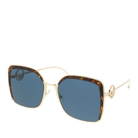 Fendi  Sonnenbrille  -  FF 0294/S Gold  - in gold  -  Sonnenbrille für Damen grau