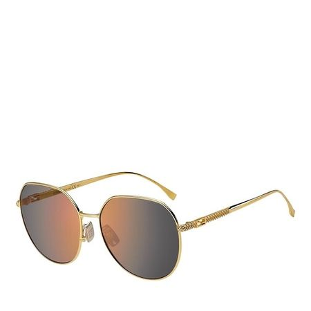 Fendi  Sonnenbrille - FF 0451/F/S - in gelb - für Damen