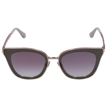 Jimmy Choo  Sonnenbrille Wayfarer LORY/S Metall rosé grau