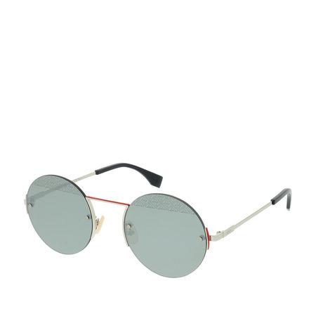 Fendi  Sonnenbrille  -  FF M0058/S Palladium  - in gold  -  Sonnenbrille für Damen grau