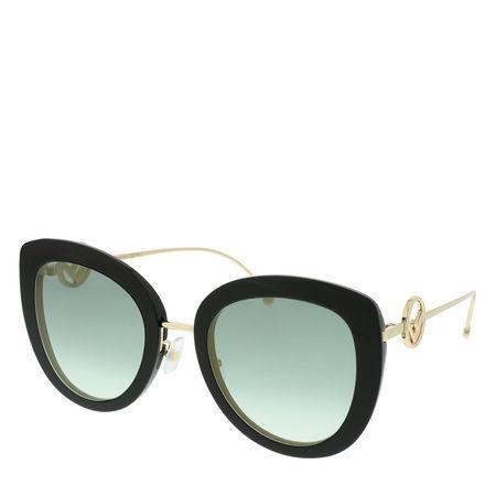 Fendi  Sonnenbrille  -  FF 0409/S Sunglasses Black  - in schwarz  -  Sonnenbrille für Damen grau
