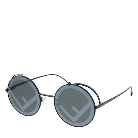 Fendi  Sonnenbrille  -  FF 0343/S Sunglasses Black  - in schwarz  -  Sonnenbrille für Damen grau