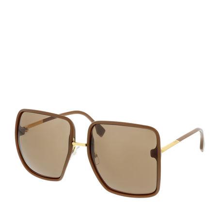 Fendi  Sonnenbrille  -  FF 0402/S Sunglasses Brown  - in braun  -  Sonnenbrille für Damen braun