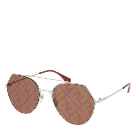 Fendi  Sonnenbrille  -  FF 0194/S Sunglasses Palladium Opal Brown  - in braun  -  Sonnenbrille für Damen braun