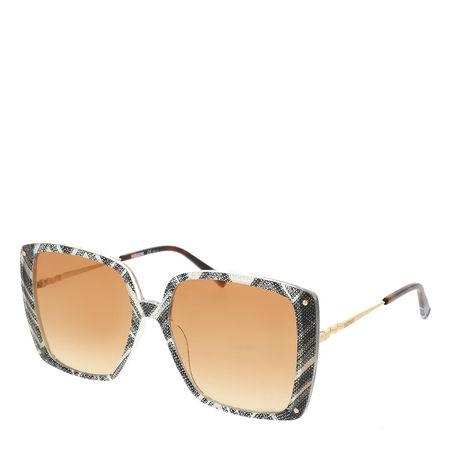 Missoni  Sonnenbrille  -  MIS 0002/S White Black Pattern  - in schwarz  -  Sonnenbrille für Damen orange