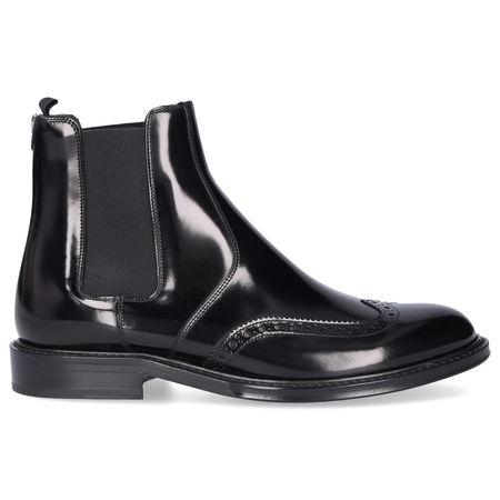 Saint Laurent Paris Chelsea Boots ARMY 20 Kalbsleder schwarz schwarz