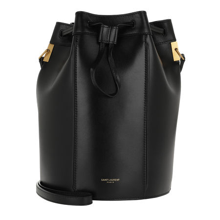 Saint Laurent Paris Saint Laurent Beuteltasche - Talitha Medium Bucket Bag Smooth Leather - in schwarz - für Damen schwarz