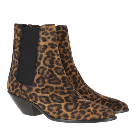 Saint Laurent Paris Saint Laurent Boots & Stiefeletten - West Chelsea Boots Suede - in bunt - für Damen schwarz