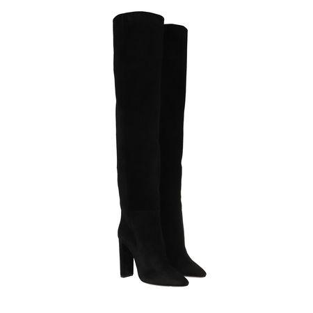 Saint Laurent Paris Saint Laurent Boots  -  Soixante Seize 105 Boots Nero  - in schwarz  -  Boots für Damen schwarz