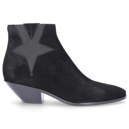 Saint Laurent Paris Saint Laurent Chelsea Boots WEST45  Veloursleder schwarz schwarz