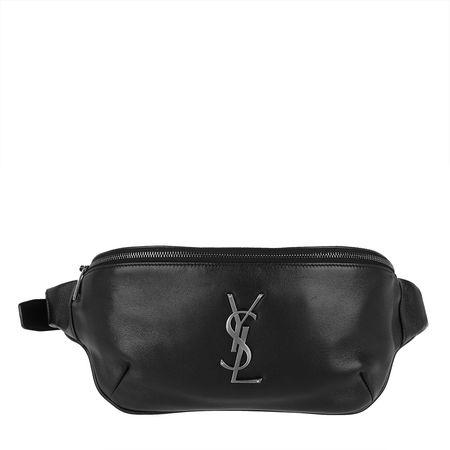 Saint Laurent Paris Saint Laurent Gürteltasche  -  YSL Beltbag Black  - in schwarz  -  Gürteltasche für Damen grau