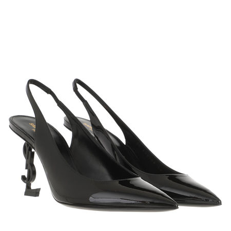 Saint Laurent Paris Saint Laurent Pumps & High Heels - Opyum Slingback Pump Leather - in black - für Damen schwarz
