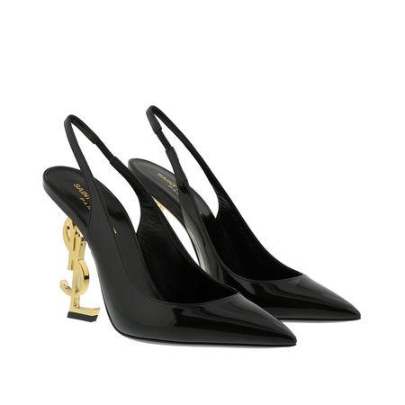Saint Laurent Paris Saint Laurent Pumps & High Heels - YSL Opyum 110 Slingback Pumps - in black - für Damen schwarz