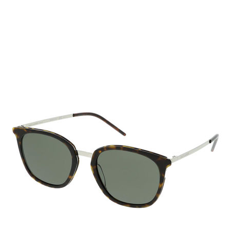 Saint Laurent Paris Saint Laurent Sonnenbrille - SL 375 SLIM-004 53 Sunglass WOMAN METAL - in silber - für Damen grau