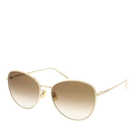 Saint Laurent Paris Saint Laurent Sonnenbrille - SL 486-003 57 Sunglass Woman Metal - in gold - für Damen