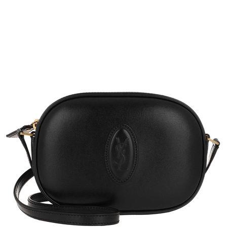 Saint Laurent Paris Saint Laurent Umhängetasche  -  Le 61 Camera Bag Smooth Leather Black  - in schwarz  -  Umhängetasche für Damen schwarz