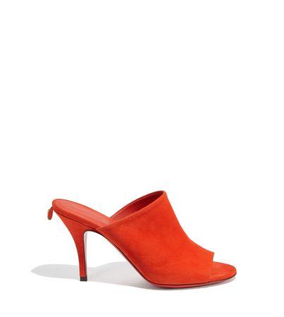 Salvatore Ferragamo  Damen Mules Orange Größe 35.5 orange
