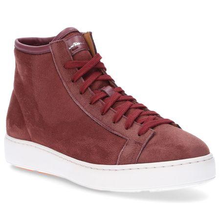 Santoni  Sneaker high 60440 braun