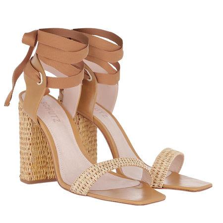 Schutz Shoes Schutz Sandalen  -  High Heel Sandal Beige  - in braun  -  Sandalen für Damen braun