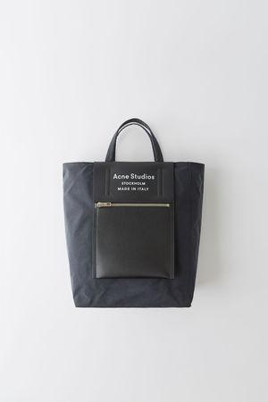Acne Studios  FN-UX-BAGS000014 Schwarz/Schwarz Einkaufstasche grau
