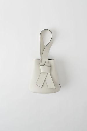 Acne Studios  FN-WN-BAGS000035 Weiß/Schwarz  Musubi Rucksack grau