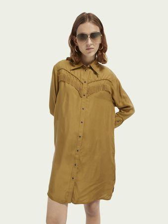 Scotch & Soda  Hemdkleid im Western-Stil