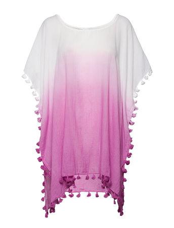 SEAFOLLY Dip Dye Kaftan Strandmode Pink  lila