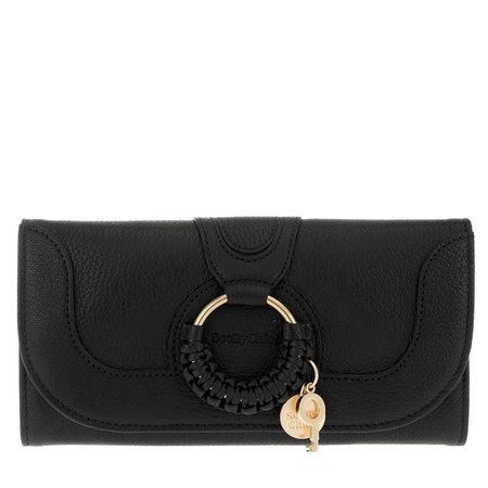 See By Chloé  Portemonnaie - Hana Wallet Large - in schwarz - für Damen schwarz