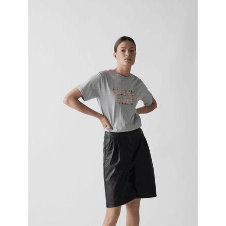 See By Chloé T-Shirt mit Label-Print