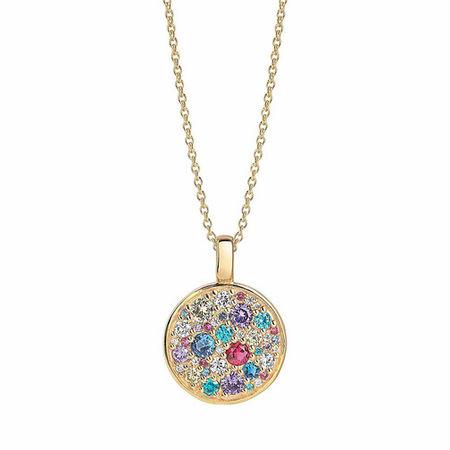 Sif Jakobs Jewellery  Halskette - Novara Pendant And Chain 70 cm - in gold - für Damen