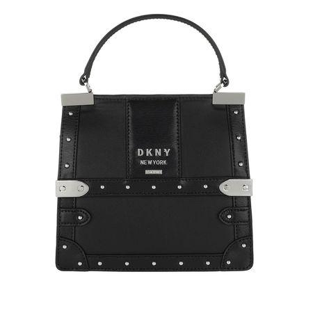 DKNY  Satchel Bag  -  Louise Top Handle Bag Black/Silver  - in schwarz  -  Satchel Bag für Damen schwarz