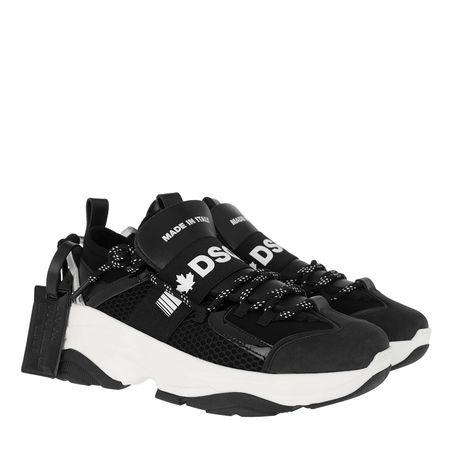 Dsquared2  Sneakers  -  Sneakers Black/Silver  - in schwarz  -  Sneakers für Damen schwarz