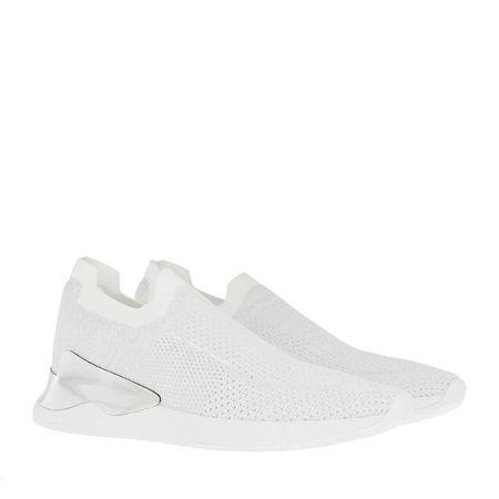 DKNY  Sneakers - Rela Slip On Sneaker White/Silver - in silber - für Damen braun