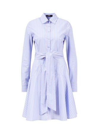 Steffen Schraut  - Blusenkleid 'Belle Summer' mit Bindegürtel 100% Baumwolle Das Model ist 180 cm und trägt Größe 34 Maße der Größe 34: - Gesamtlänge: 84 cm - Brustweite: ca. 44 cm