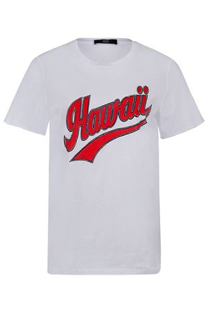 """Steffen Schraut Damen T-Shirt """"Hawaii"""" Weiss grau"""