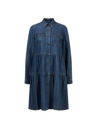 Steffen Schraut  - Denim-Kleid 'Hamptons Weekend Dress' Blau grau