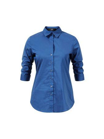 Steffen Schraut  - Klassische Bluse 'The Essential Blouse' Smokey Blue blau