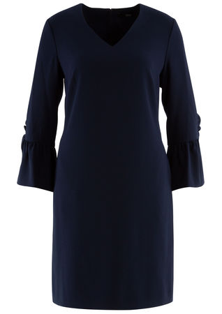 Steffen Schraut  - Kleid aus Crepe schwarz