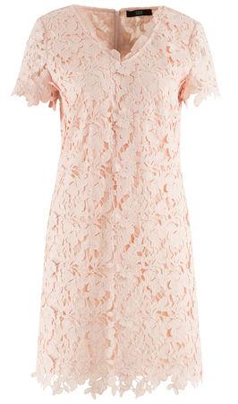 Steffen Schraut  - Kleid aus Spitze braun