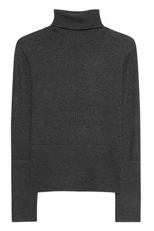 Steffen Schraut  Turtleneck Knit Slim Dark Grey Damen Grau grau