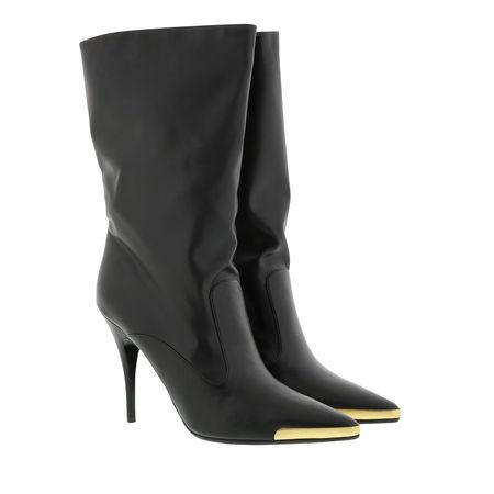 Stella McCartney  Boots  -  Alter Pull-On Boots Leather Black  - in schwarz  -  Boots für Damen grau