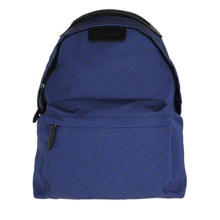 Stella McCartney  Rucksack  -  Monogram Backpack Nylon Blue  - in blau  -  Rucksack für Damen blau