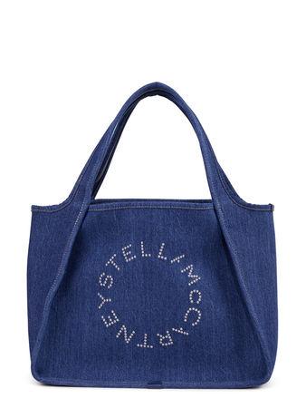 Stella McCartney  - Tote 'Eco Denim' Blau blau