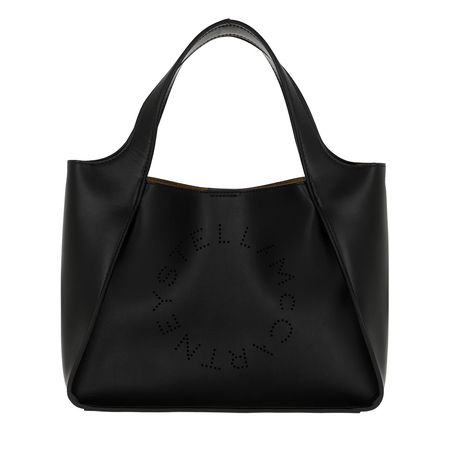 Stella McCartney  Tote - Logo Crossbody Bag Eco Soft - in schwarz - für Damen schwarz