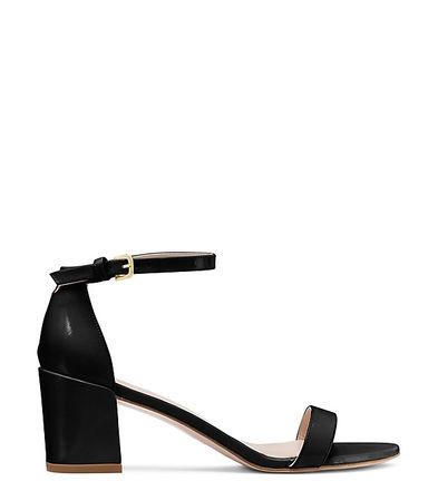 Stuart Weitzman  - Die Simple Sandale - Black - Size 42.5 schwarz