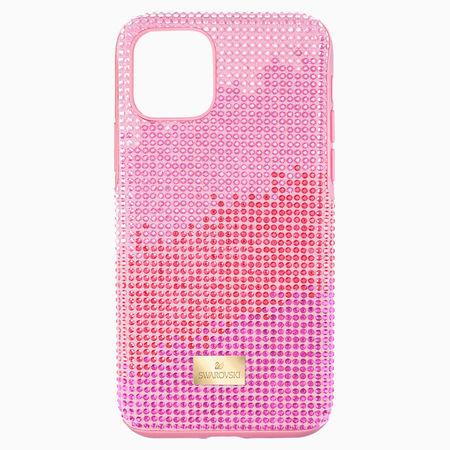 Swarovski High Love Smartphone Schutzhülle, iPhone® 11 Pro, rosa weiss