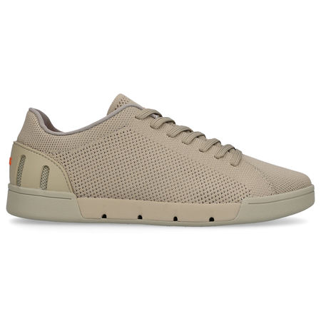 Swims  Sneaker low BREEZE TENNIS KNIT  Baumwolle Logo olive braun