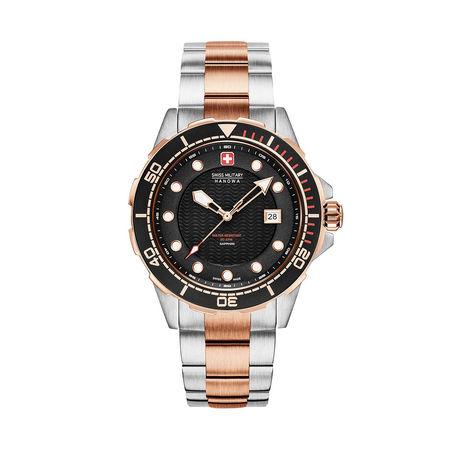 Swiss Military  Uhr  -  Men Watch Neptune Diver Black  - in bunt  -  Uhr für Damen schwarz