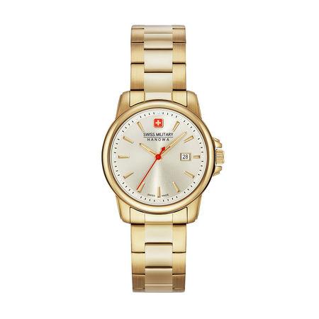 Swiss Military  Uhr  -  Women Watch Swiss Recruit Lady II Gold  - in gold  -  Uhr für Damen braun